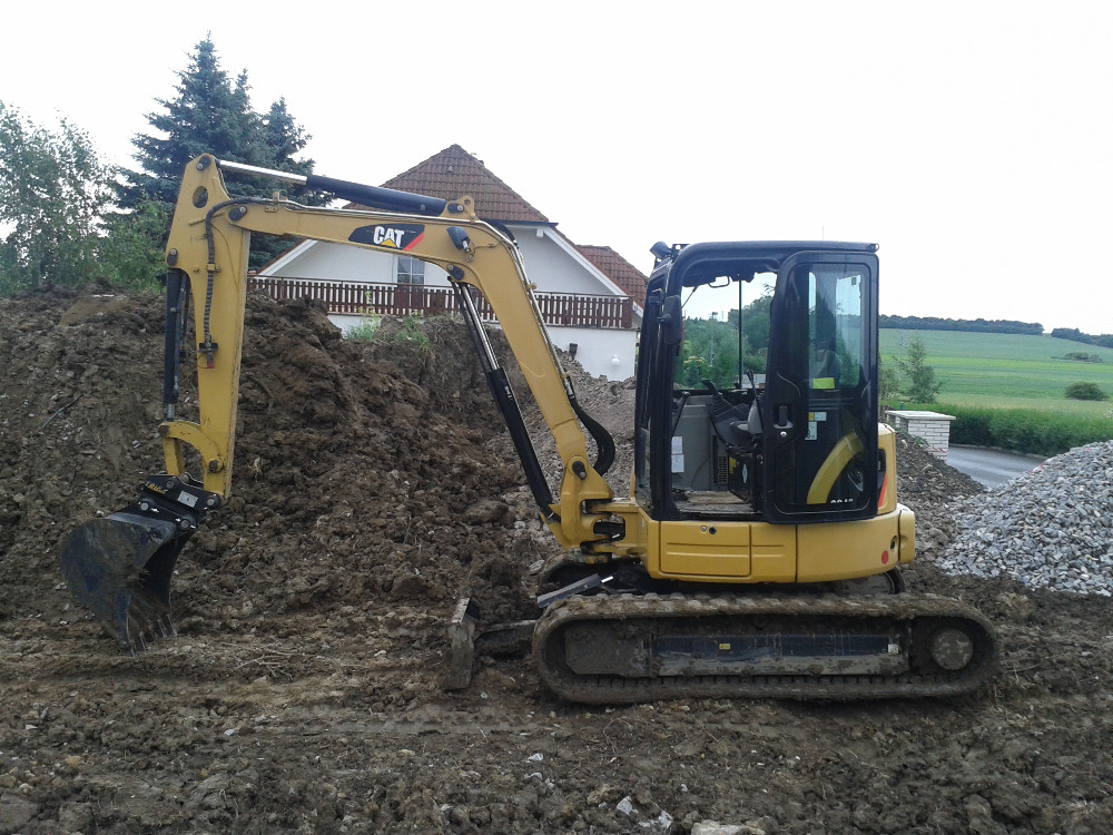 Bragrování: Zemní práce, Výkopové práce