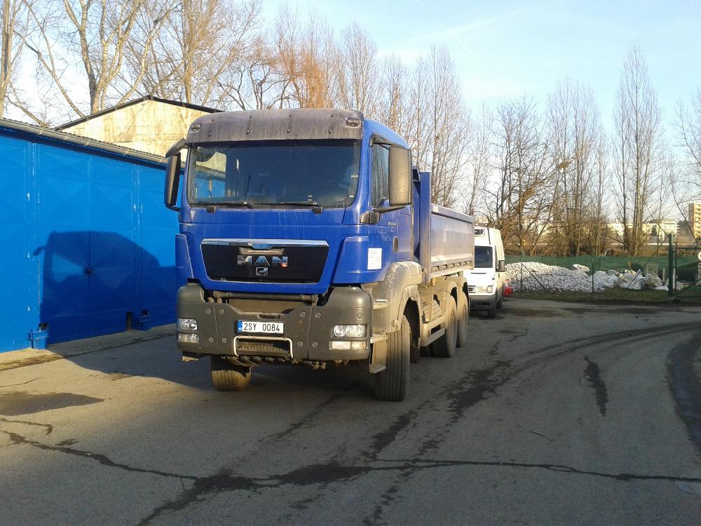 Doprava: Odvoz odpadu, Odvoz suti, Kontejnery